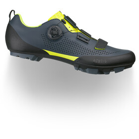 Fizik Terra X5 MTB Shoes Men grey/yellow fluo